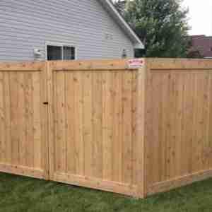 Custom Ceder & Wood Fences | Croix Area Fence