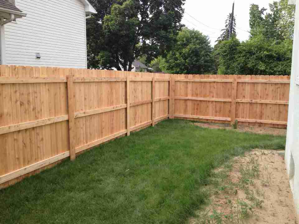 Custom Ceder Amp Wood Fences Croix Area Fence